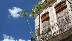 A tropical balcony in Latin America